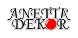 Az Anetta Dekor logója kicsiben